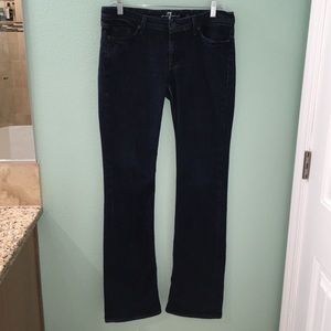 7 For All Mankind Flynn Blue Denim Jeans